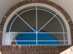 Legacy Round Top Window with RT3.1 grid pattern.